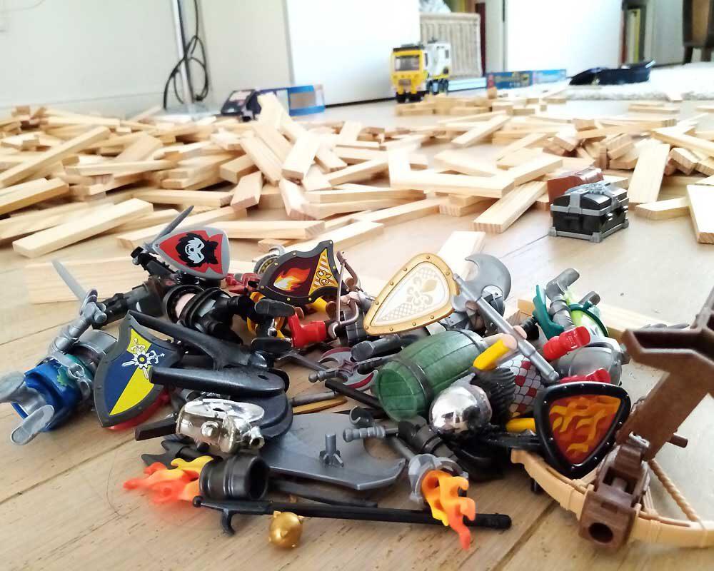 Spielzeug Chaos