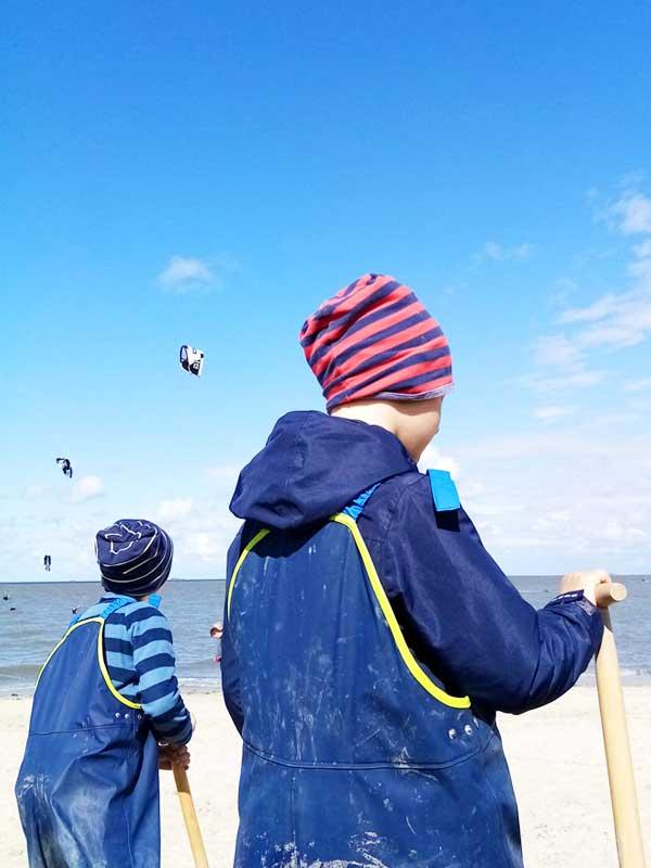 Klare Ansagen - Nordsee Urlaub mit Mütze