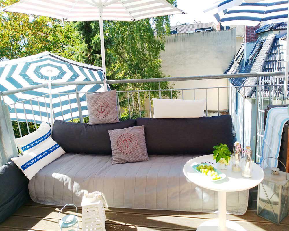 Balkon mit Summerfeeling