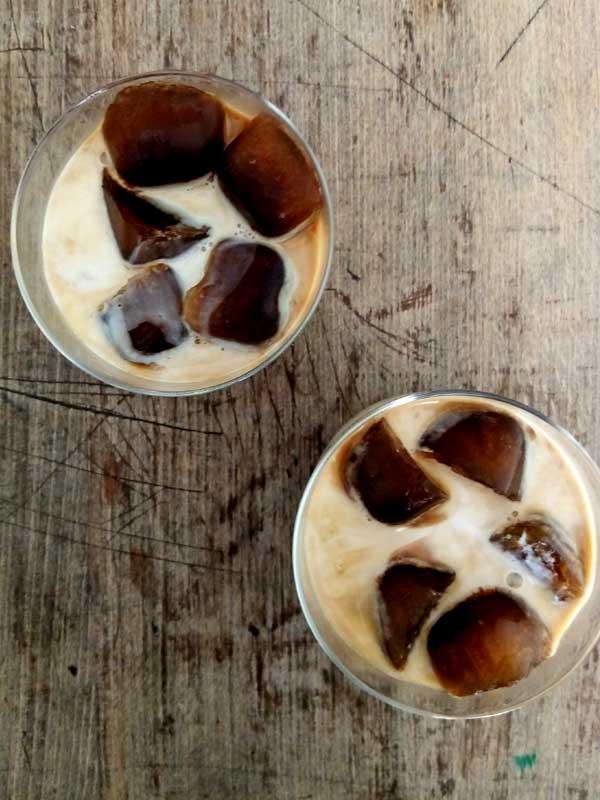 Eiskaffee - einen Doppelten bitte