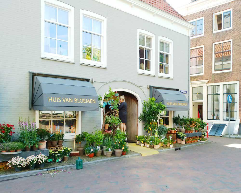 Middelburg mit seinen hübschen Läden