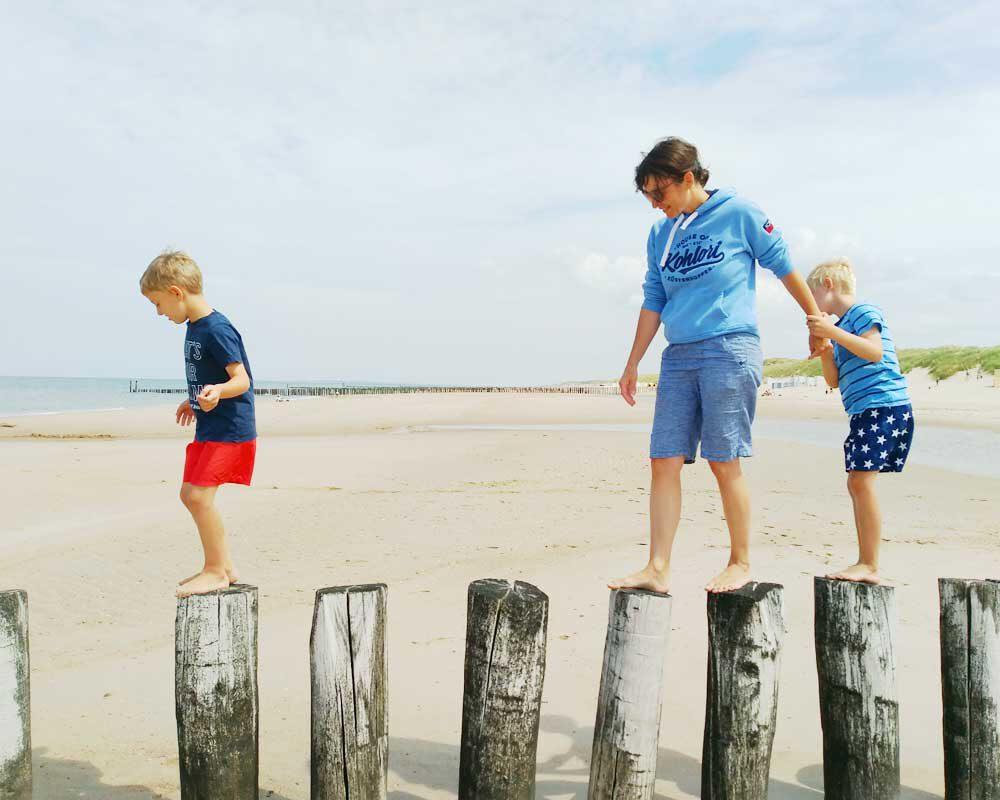 Urlaub in Zeeland mit der Familie