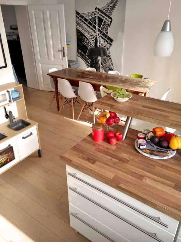 Homestory Esszimmer und Küche
