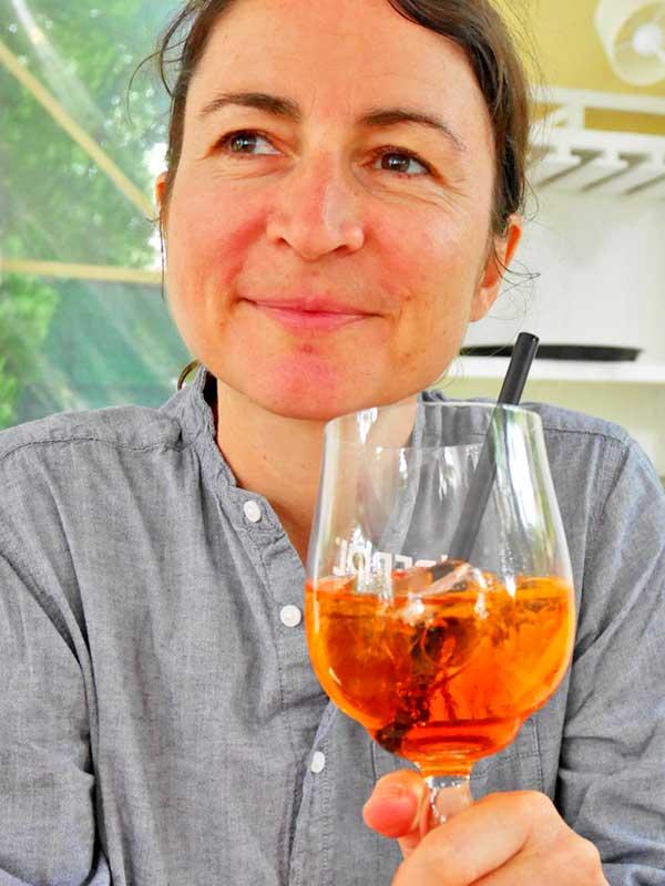 Glück im Glas mit einem Aperol  Spritz
