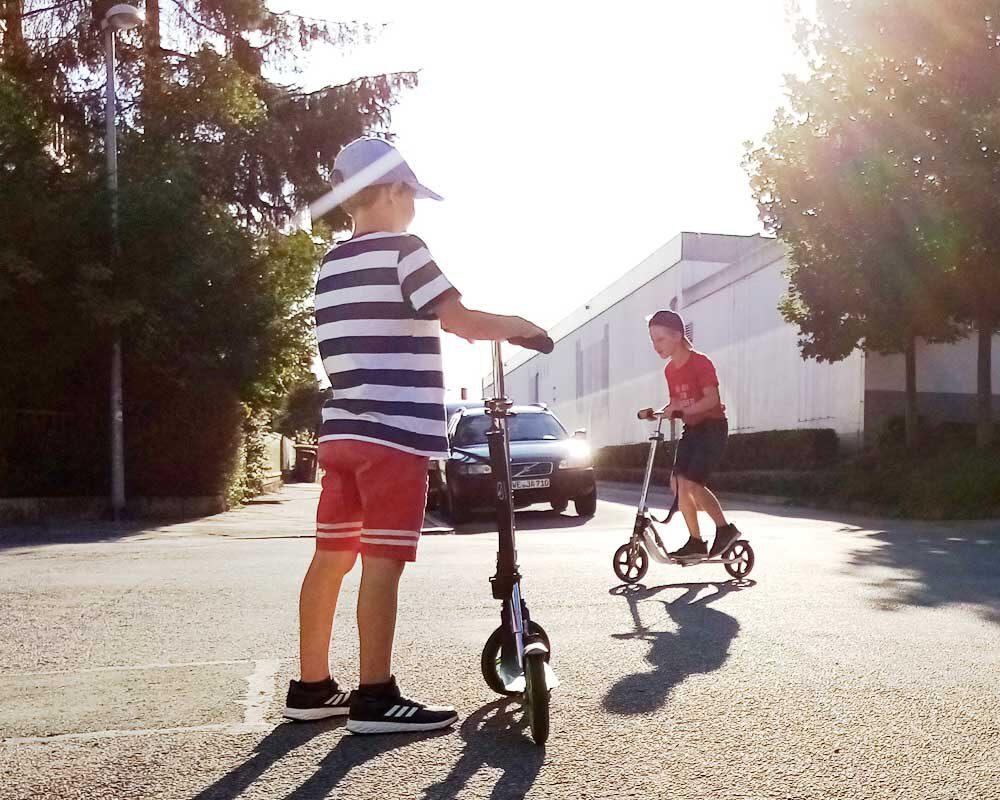 Geschenkidee für Kindergartenkinder Roller