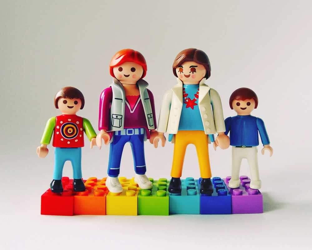 Regenbogenfamilie